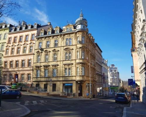 Byt 1+kk, 30m2, ul. Krále Jiřího, Karlovy Vary